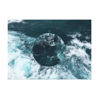 Canvas geométricas do oceano