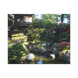 Canvas japonesas do jardim de chá #2 de San