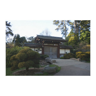 Canvas japonesas do jardim de chá #5 de San