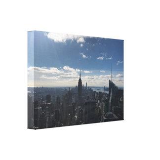 Canvas Manhattan de New York do estado do império