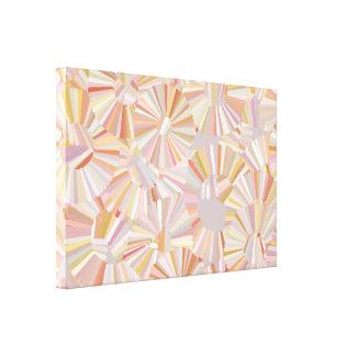 Canvas mergulhadas dos anéis impressão de canvas esticadas
