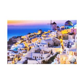 Canvas Oia Santorini