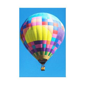 Canvas Pastel do balão dos retalhos