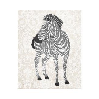 Canvas pretas & brancas de Zenya de arte Impressão Em Tela