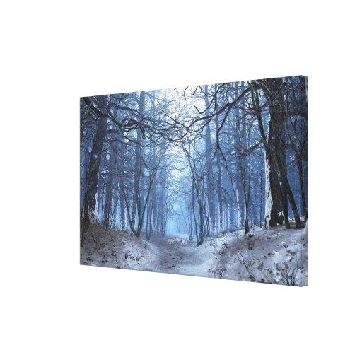 Canvas superiores da elegia (dia de inverno) impressão em tela canvas