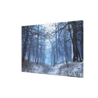 Canvas superiores da elegia (dia de inverno) impressão em tela