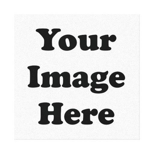 Canvas superiores do brilho do modelo vazio do impressão em canvas