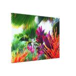 Canvas tropicais da fantasia da flora impressão de canvas esticadas