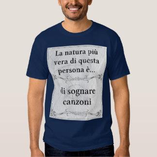 Canzoni do sognare de vera do più do natura do La… Camiseta