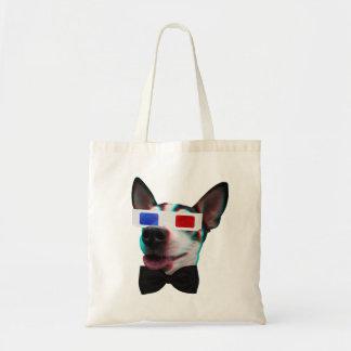 Cão 3D Snazzy Sacola Tote Budget