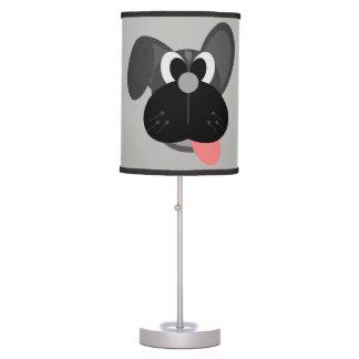 Cão bonito da lâmpada das crianças