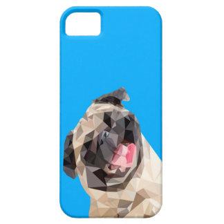 Cão bonito dos espanadores capa para iPhone 5