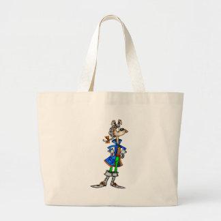 Cão colonial dos desenhos animados bolsas