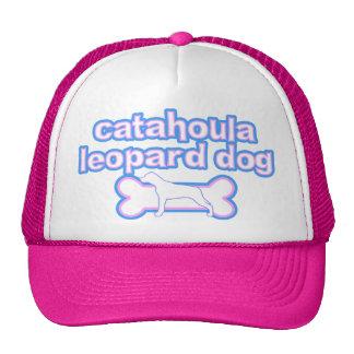Cão cor-de-rosa & azul do leopardo de Catahoula Bones
