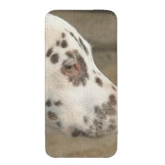 Cão Dalmatian Bolsinha De Celular
