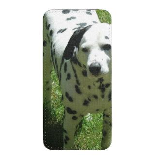 Cão Dalmatian Bolsa De Celular