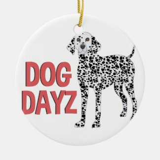 Cão Dayz Ornamento De Cerâmica