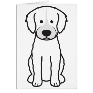 Cão de água espanhol cartão