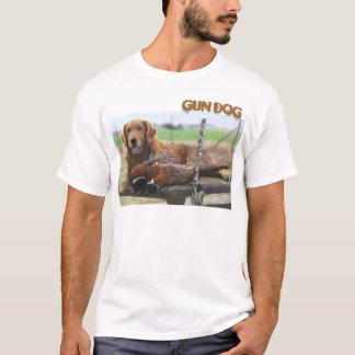 Cão de arma camiseta