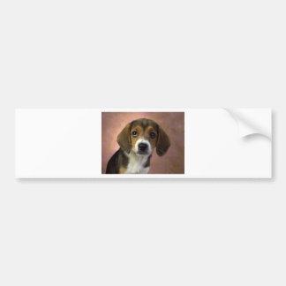 Cão de filhote de cachorro do lebreiro adesivo para carro