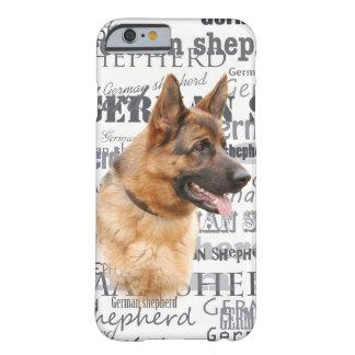 Cão de german shepherd capa barely there para iPhone 6