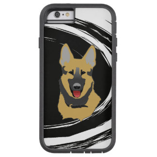 Cão de german shepherd capa iPhone 6 tough xtreme