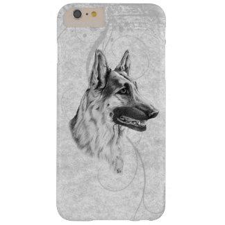 Cão de german shepherd capas iPhone 6 plus barely there