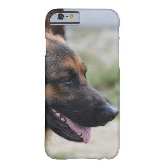 Cão de german shepherd doce capa barely there para iPhone 6