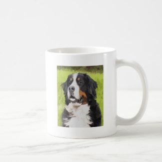 Cão de montanha de Bernese Caneca De Café
