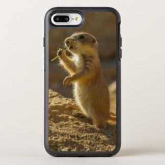 Cão de pradaria que come, arizona do bebê capa para iPhone 8 plus/7 plus OtterBox symmetry