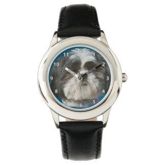 Cão de Shih Tzu Relógios De Pulso