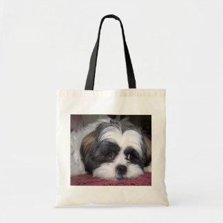 Cão de Shih Tzu Sacola Tote Budget