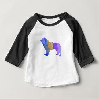 Cão de Terra Nova Camiseta Para Bebê