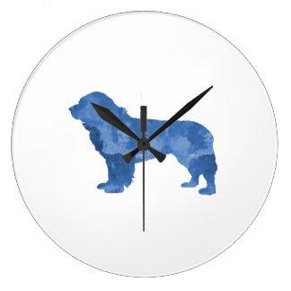 Cão de Terra Nova Relógios Para Paredes