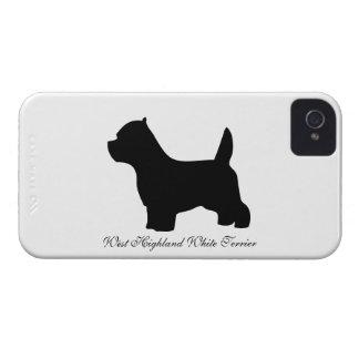 Cão de Terrier branco de montanhas ocidentais, Capinha iPhone 4
