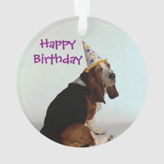 Cão do aniversário do Basset