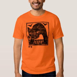 Cão do bastão t-shirts