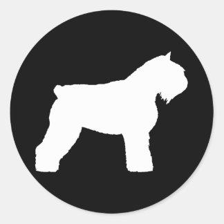 Cão do DES Flandres de Bouvier Adesivo