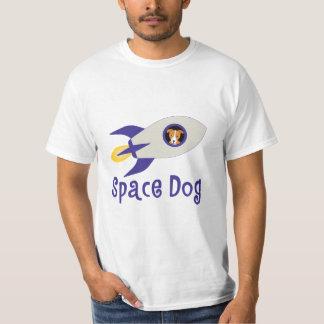 Cão do espaço camiseta