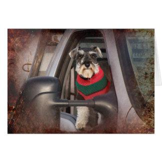 Cão do rancho cartão