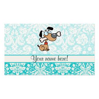 Cão dos desenhos animados; Bonito Modelos Cartões De Visita