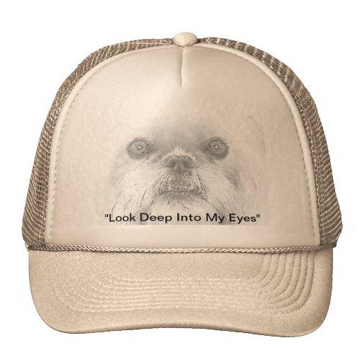 "Cão ""Ewok "" de Bruxelas Griffon do chapéu do camio Bonés"