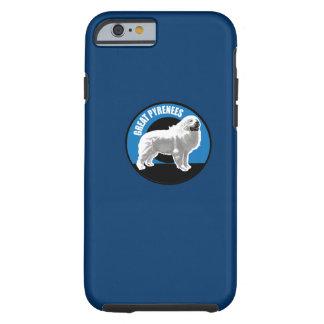 Cão grandes Pyrenees Capa Tough Para iPhone 6