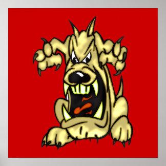 Cão louco poster
