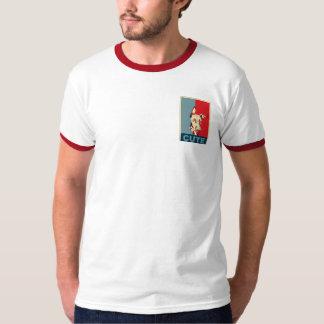 Cão vermelho bonito camiseta