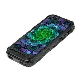 Capa À Prova D'água Para iPhone SE/5/5s Aeonium roxo & verde bonito Arboreum Zwartkop