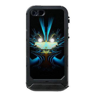 Capa À Prova D'água Para iPhone SE/5/5s Alienígena de incandescência do azul dos olhos