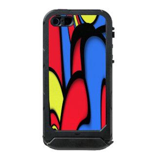 Capa À Prova D'água Para iPhone SE/5/5s Arte moderna brilhante
