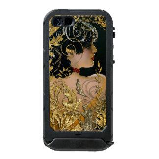 Capa À Prova D'água Para iPhone SE/5/5s ATLAS ID™ do iPhone SE/5/5s de Fanny, preto