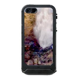 Capa À Prova D'água Para iPhone SE/5/5s Chá da água devido às ondas